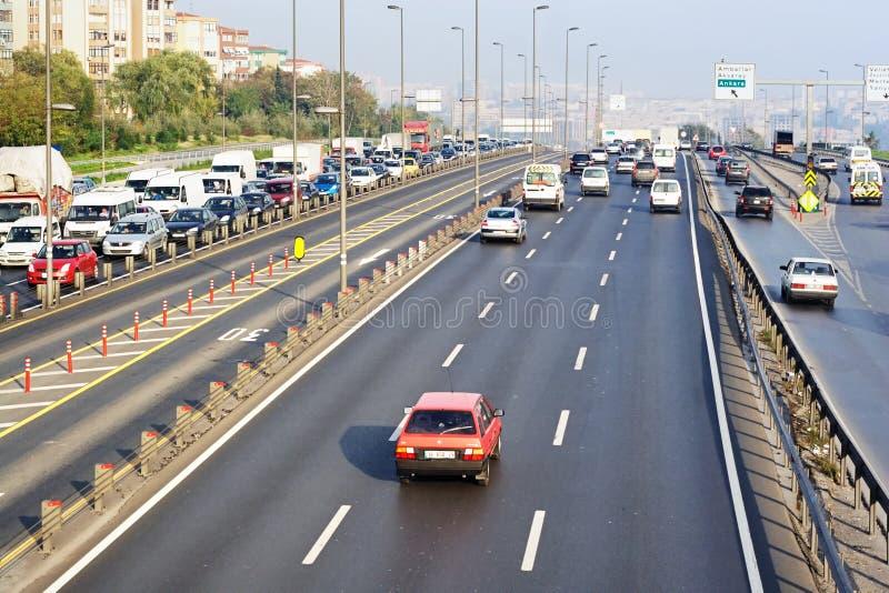 Transeuropean Motorway (TEM) fotografering för bildbyråer