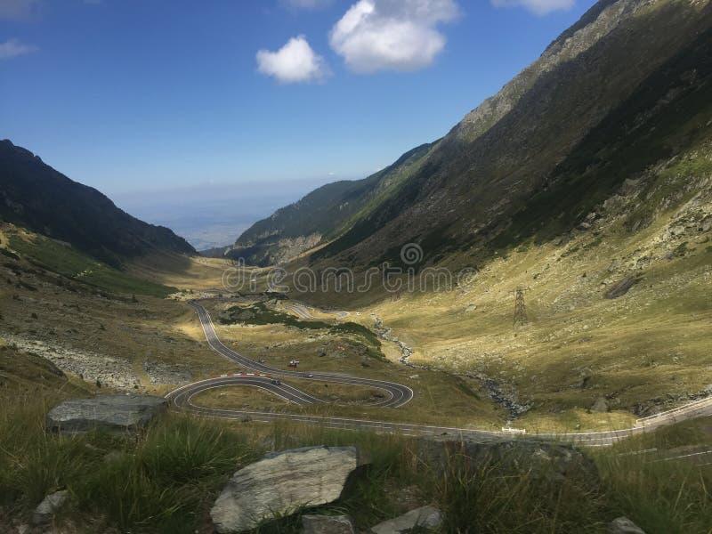 Transfagarasan高速公路,罗马尼亚 免版税库存图片