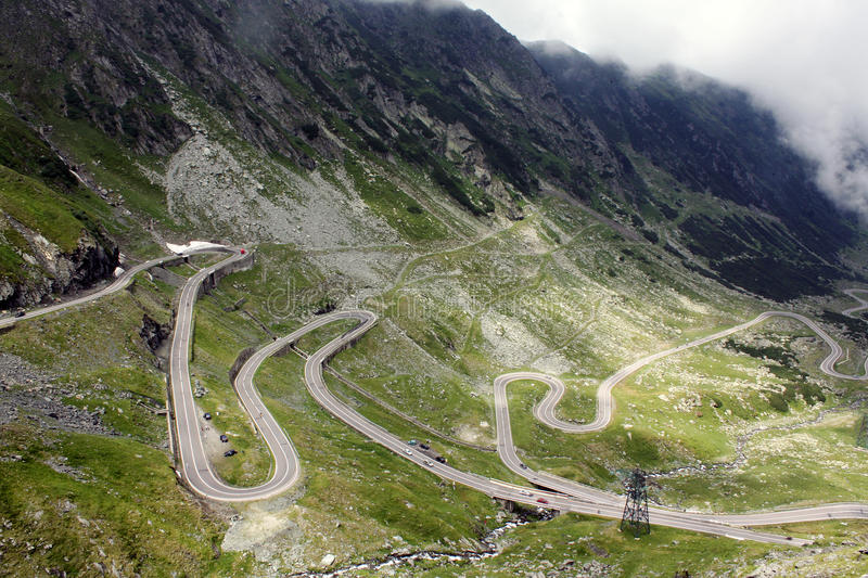 Download Transfagarasan stock image. Image of highway, meandering - 10048973