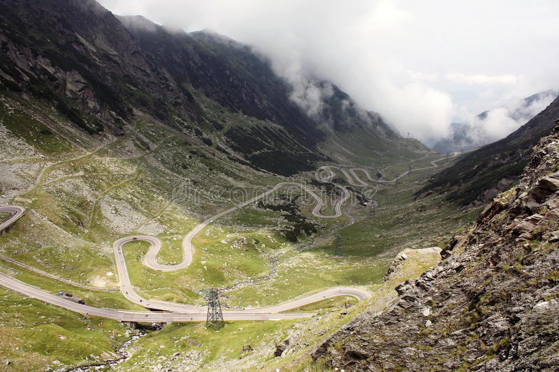 Download Transfagarasan stock photo. Image of meandering, landscape - 10049032