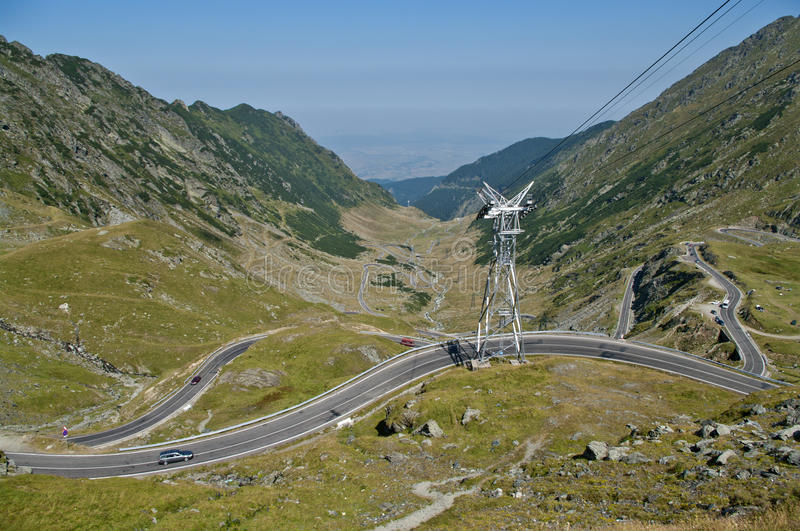 Transfagarasan, Best Road In The World Stock Photo