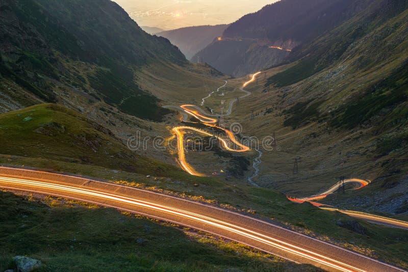 Transfagarasan. Mountain road royalty free stock image