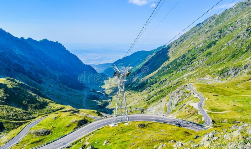 The Transfagarasan mountain road royalty free stock photos