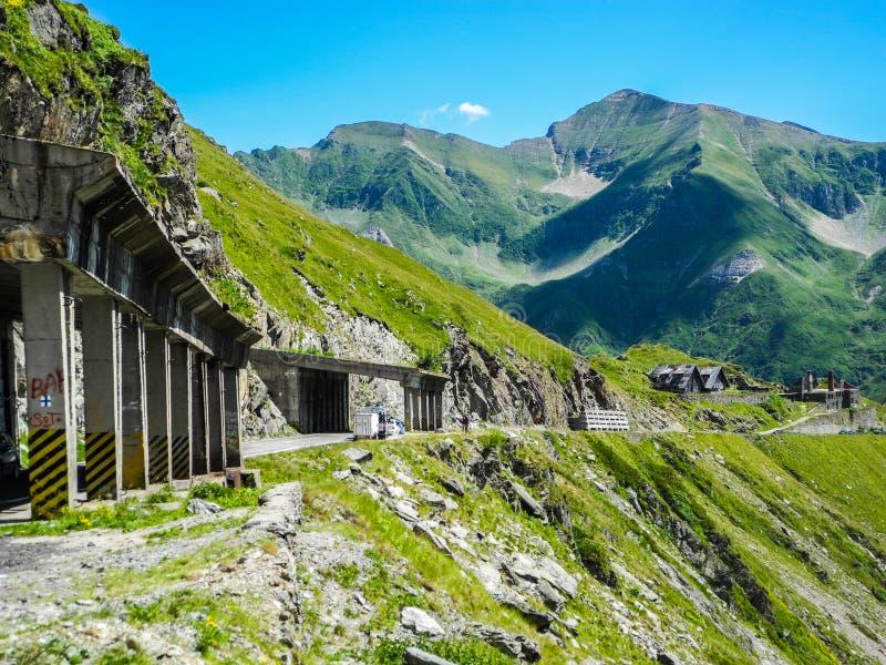 The Transfagarasan mountain road royalty free stock images