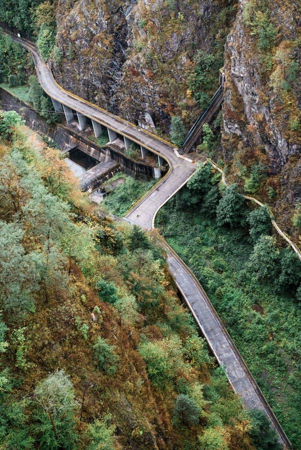 Transfagarasan nella Transilvania, Romania immagini stock