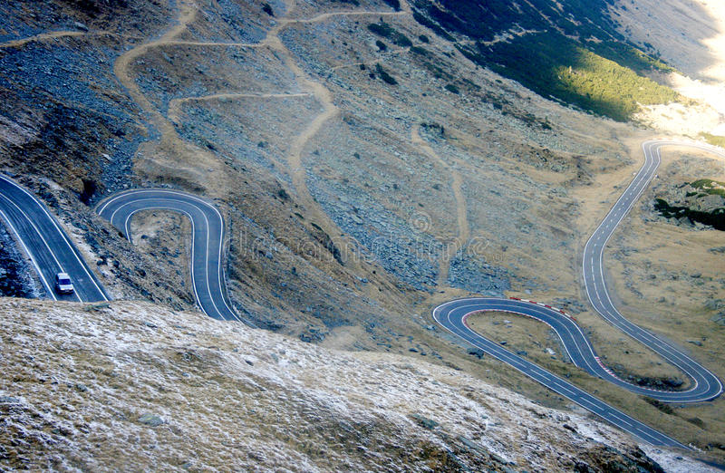 Download Transfagarasan road stock image. Image of path, november - 17113219