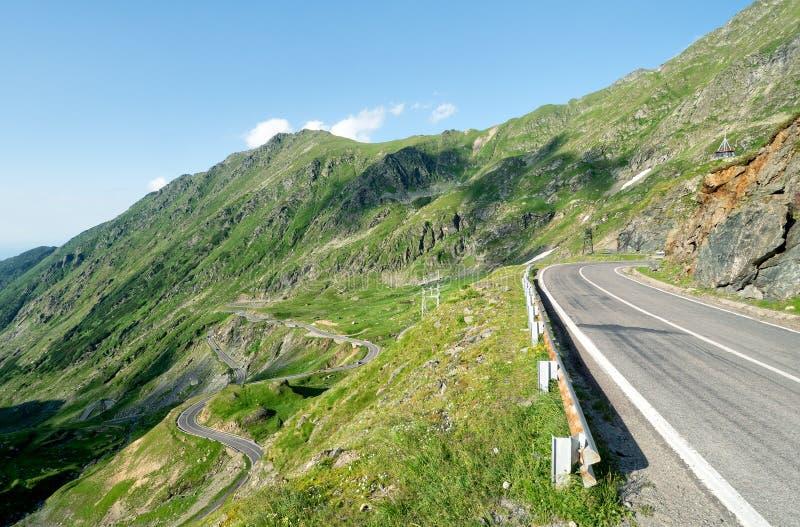 Transfagarasan Road, Carpathian mountains, Romania royalty free stock photos