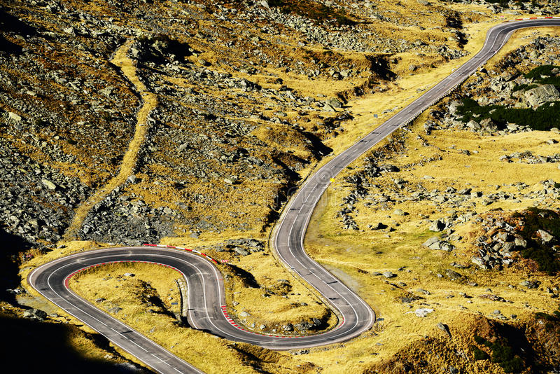 Download Transfagarasan Road In The Transylvanian Alps Stock Photo - Image: 28215220