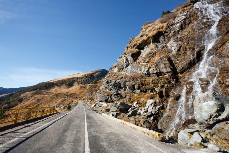 Transfagarasan Straße in Rumänien lizenzfreie stockfotografie