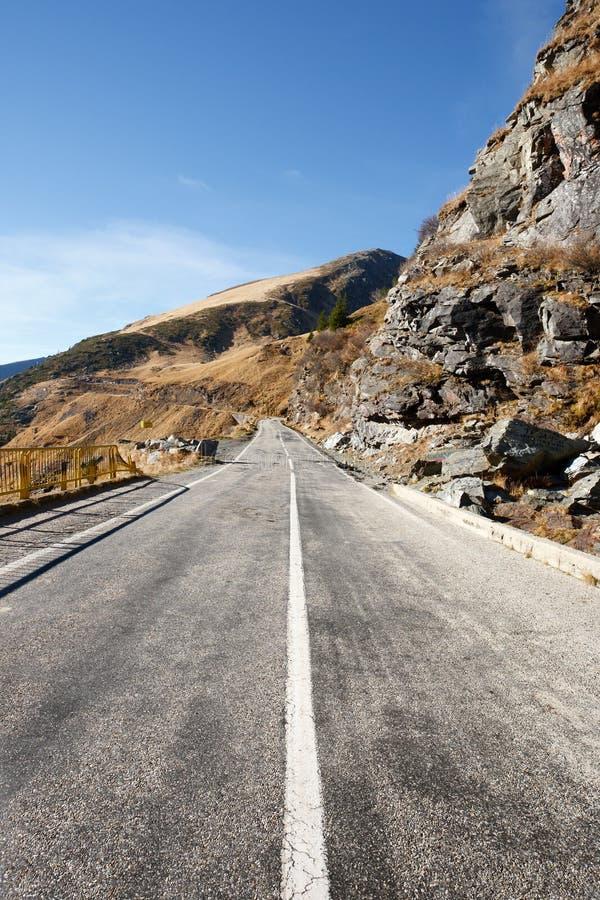 Transfagarasan Straße in Rumänien lizenzfreies stockfoto