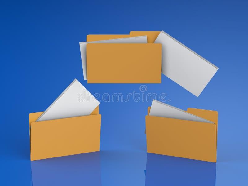 Transferência de arquivos ou partilha ilustração do vetor