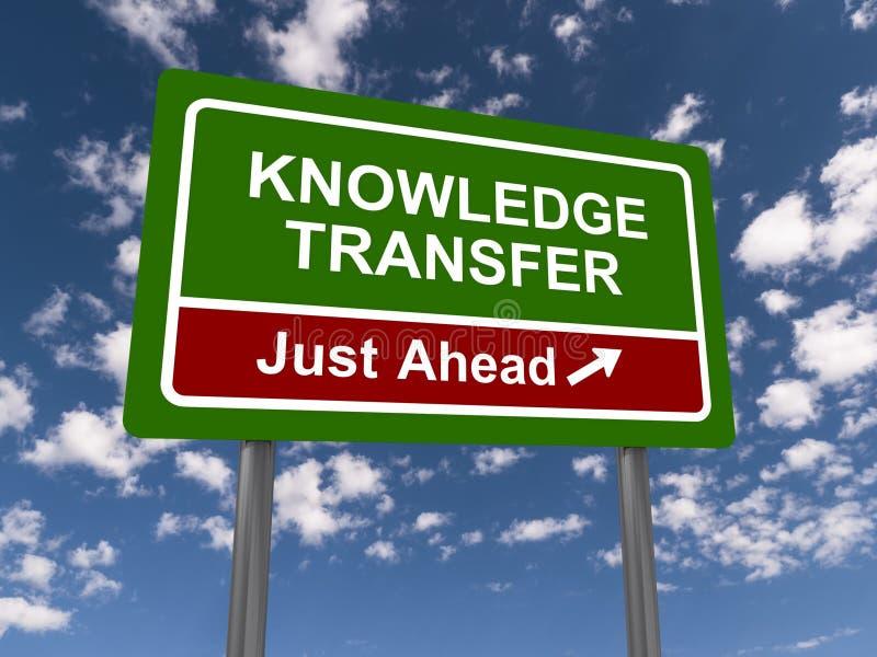 Transferência do conhecimento imagens de stock royalty free