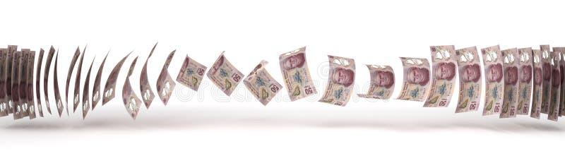 Transferência dos pesos mexicanos ilustração stock