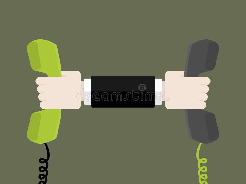 Transferencia del teléfono libre illustration