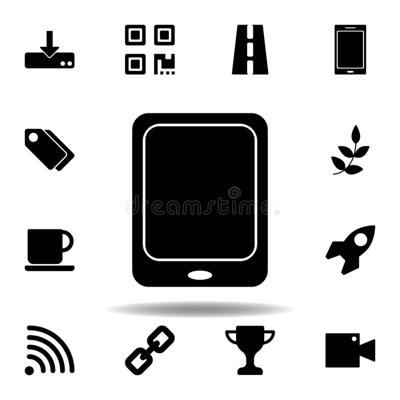 Transferencia directa al icono del almacenamiento Las muestras y los s?mbolos se pueden utilizar para la web, logotipo, app m?vil libre illustration