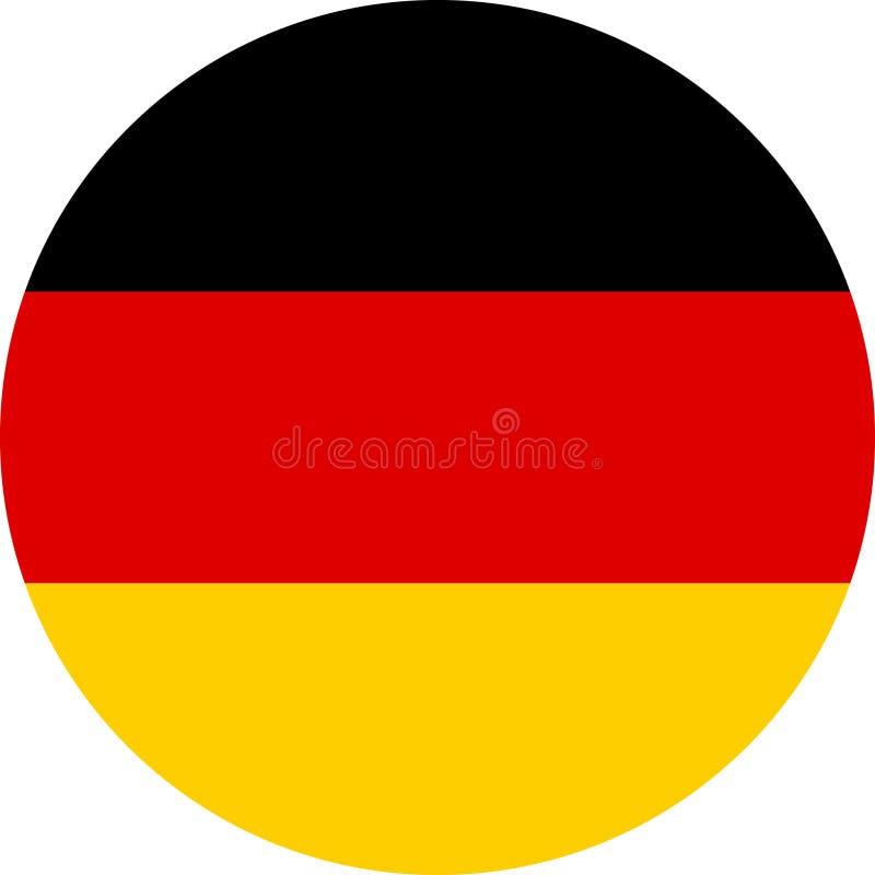 Transferencia directa de Alemania de la bandera imagenes de archivo