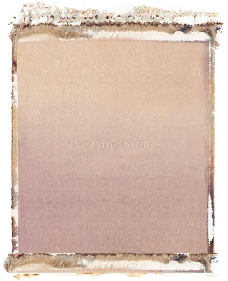Transferencia polaroid 4x5 imagen de archivo. Imagen de sepia - 2432343