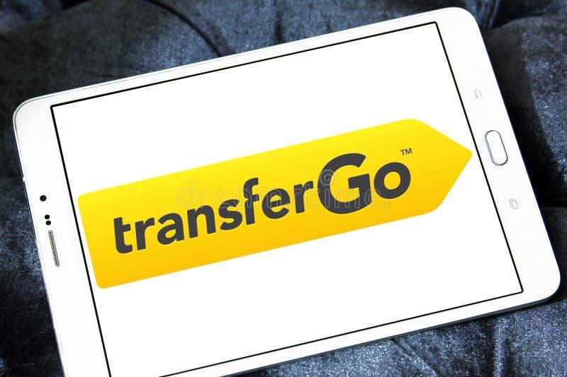 TransferGo-Firmenlogo lizenzfreie stockfotografie