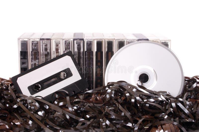 Transfert au CD image stock
