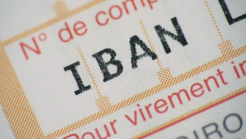 Transfert De Banque Internationale Photo libre de droits