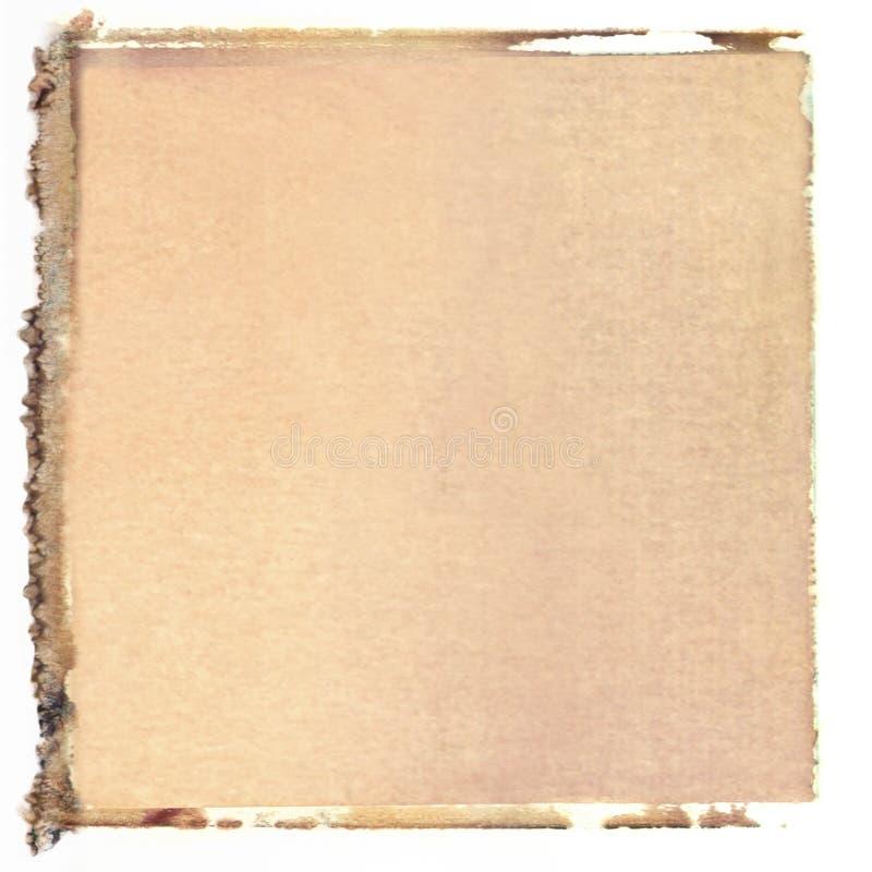 Transfert polaroïd carré images stock