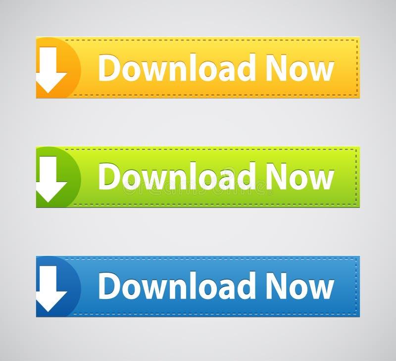 Transfiera los botones y los iconos, sistema, aislado en el fondo blanco libre illustration
