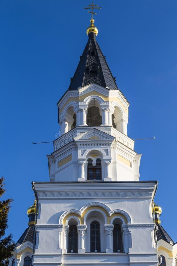 Transfiguraci święta Katedra Zhytomyr Zhitomir Ukraina obrazy royalty free