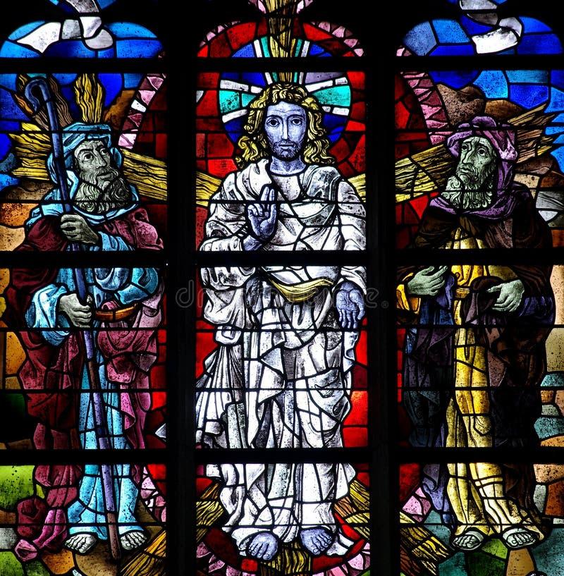 Transfiguracja Jezus. obraz stock