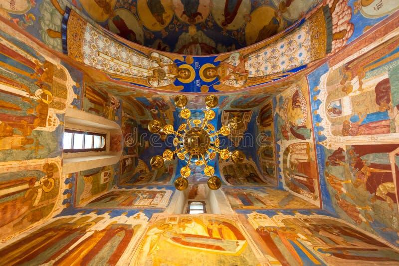 Transfiguratiekathedraal in Suzdal royalty-vrije stock foto's