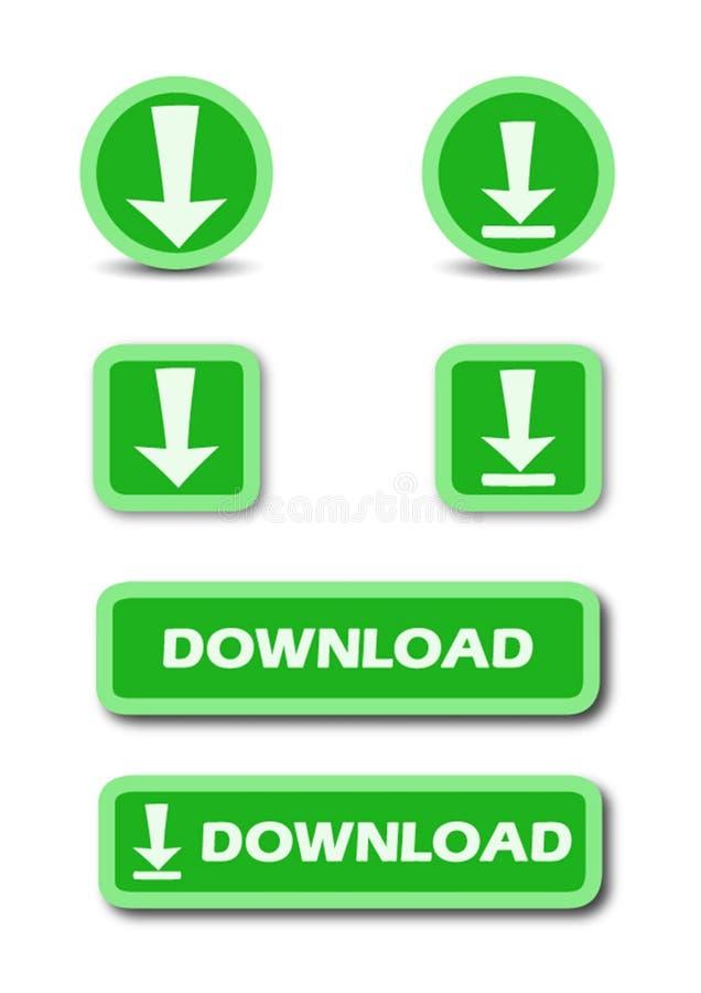 Estoque do botão da Web da transferência foto de stock royalty free