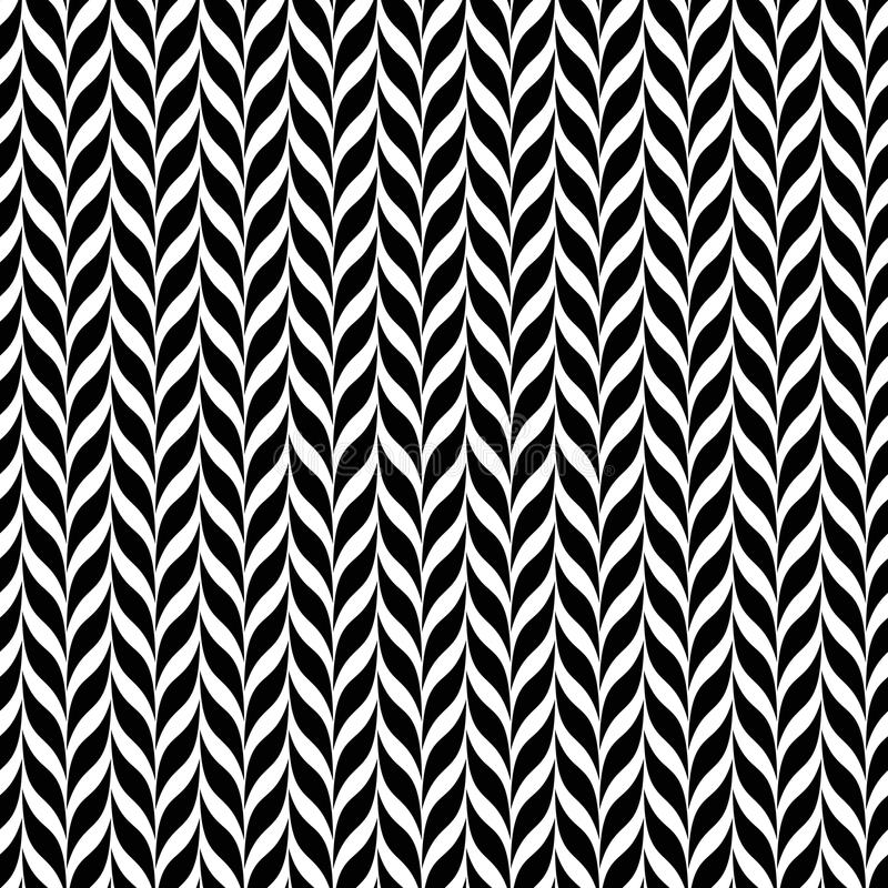 Transformação da ilusão ótica Fundo espiral abstrato preto e branco do vetor ilustração do vetor