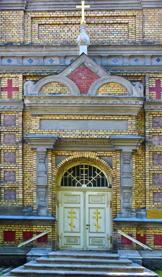 Transformação ortodoxo apostólica estônia de Parnu de nosso Lord Church imagens de stock royalty free