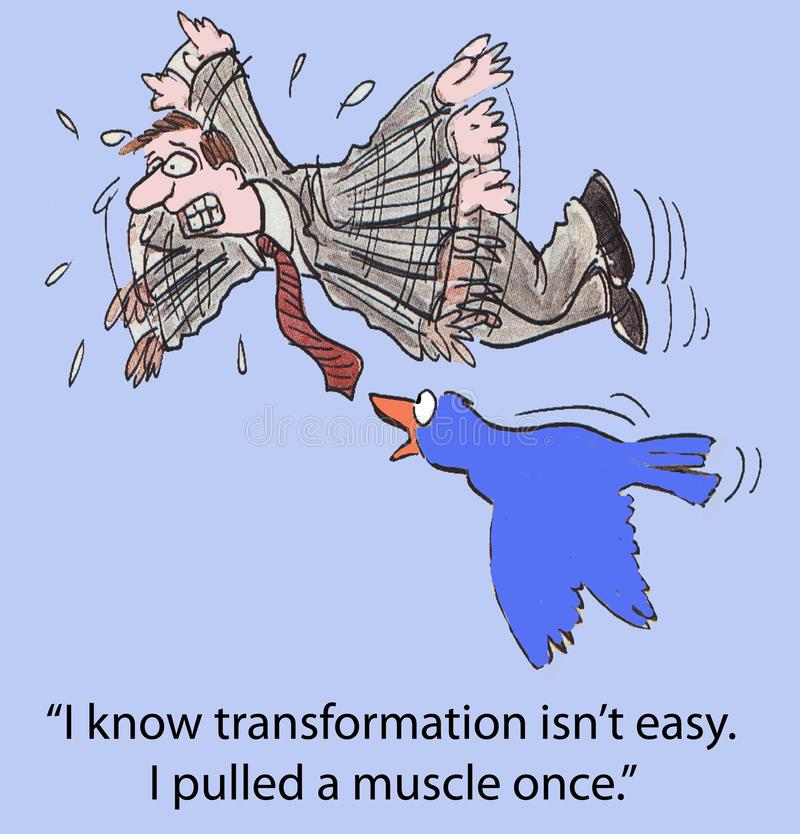 Transformación stock de ilustración