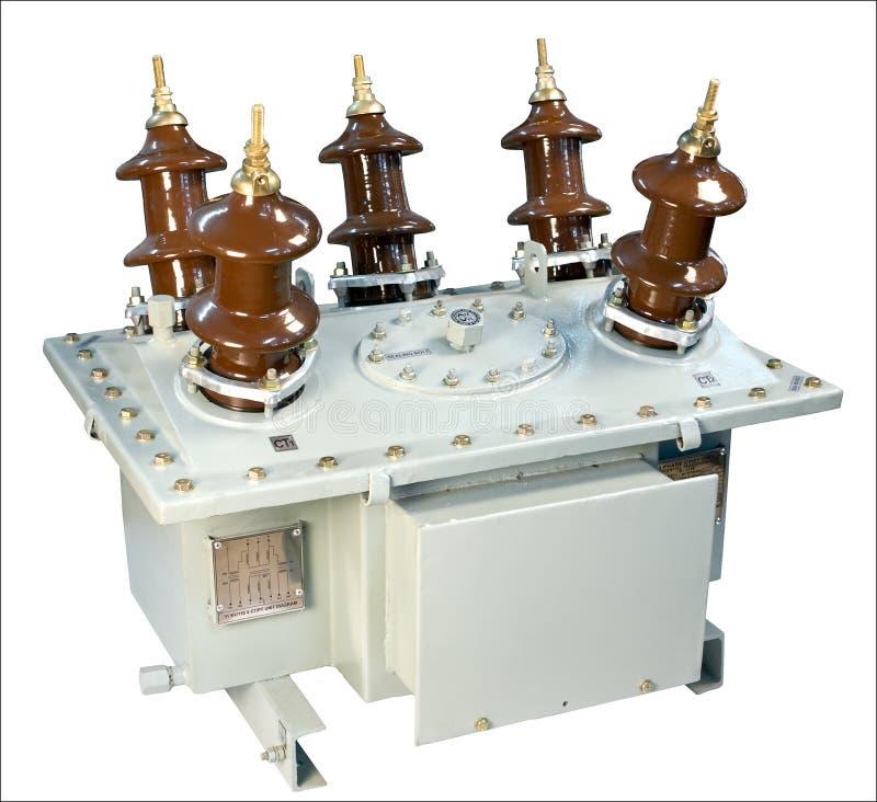 Transformador corriente Oil-filled fotografía de archivo libre de regalías