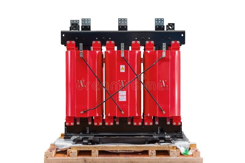 Transformador de la resina del molde fotos de archivo libres de regalías