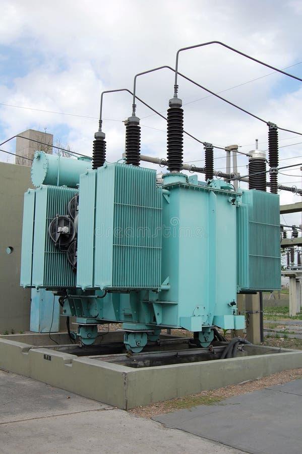 Transformador de potencia 2 fotos de archivo