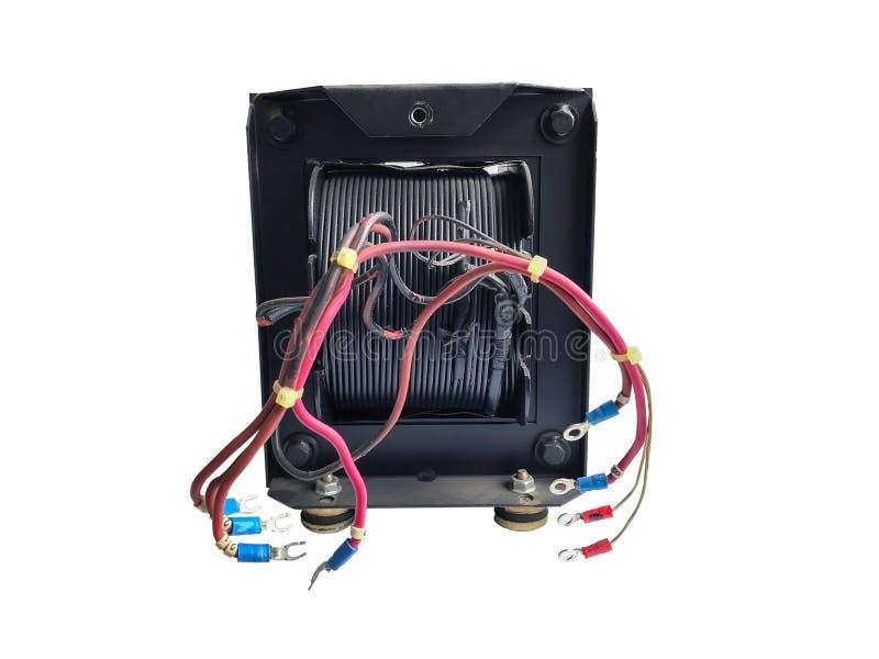 Transformador elétrico isolado fotos de stock