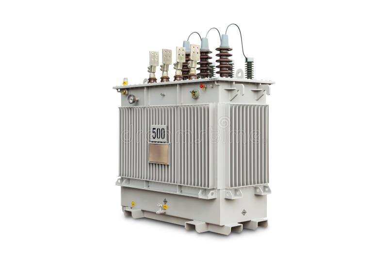 transformador selado gás do N2 de 500 kVA imagens de stock