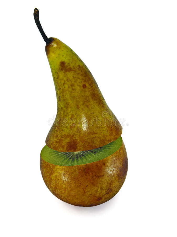Download The Transformation Of Pears In Orange Stock Photo - Image: 14851112