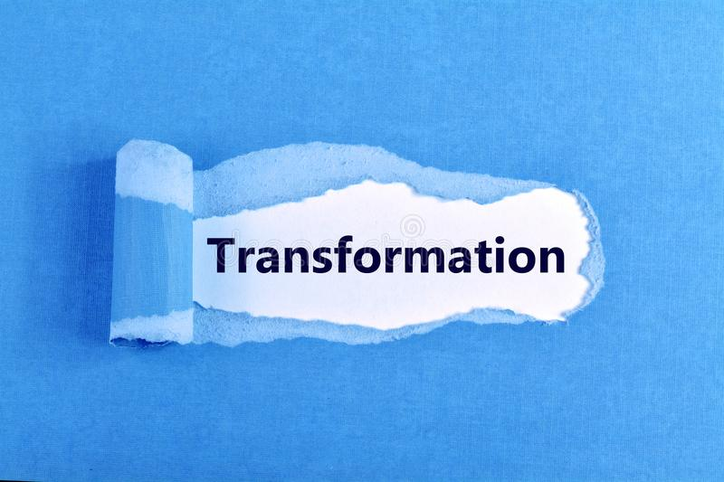 Transformation word stock images