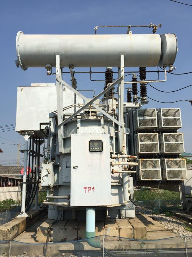 transformator royaltyfri foto