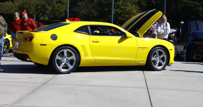 Transformatoren Camaro stockbilder