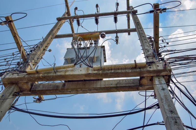 Transformatoren electricity_2 royalty-vrije stock afbeeldingen