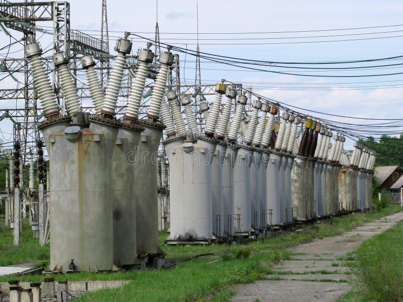 transformatorer arkivbild