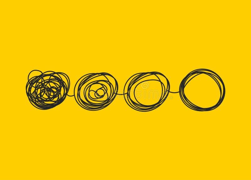 Transformaty ręki drawmn ikona ilustracja wektor