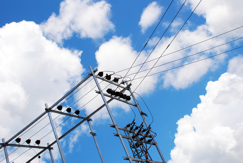 Download Transformer stock image. Image of insulators, electrical - 6958487