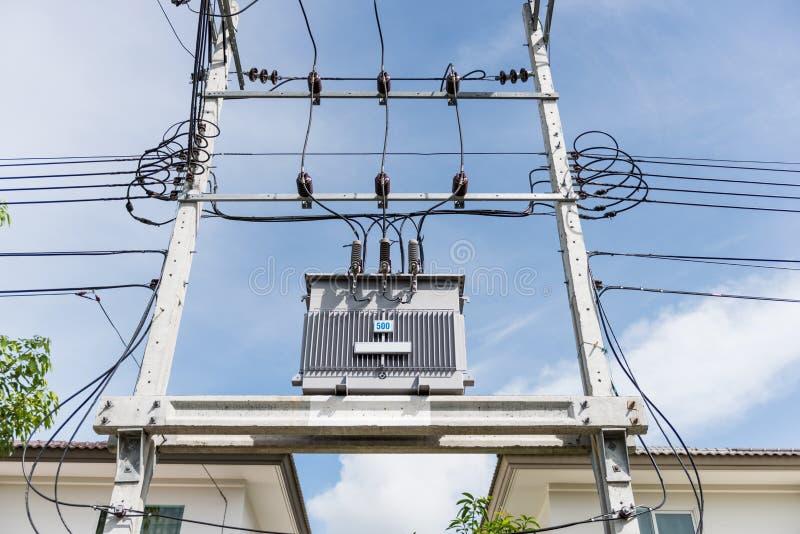 Download Transformer On High Power Station. High Voltage Stock Image - Image: 32207819