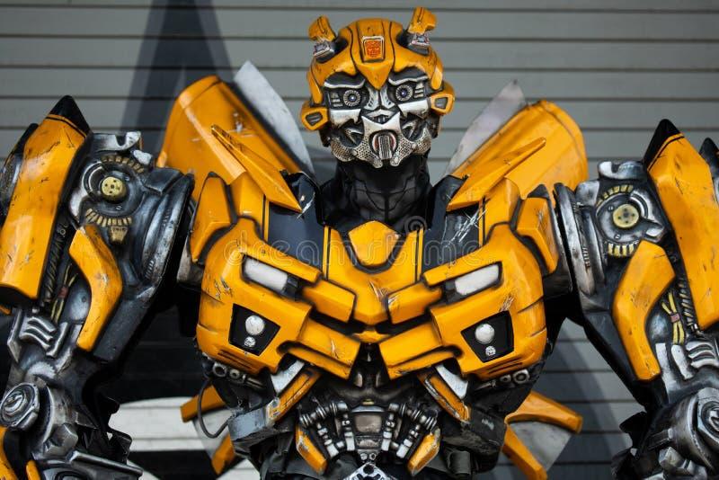 Transformer model Bumble bee. . Universal Studios. Orlando. Florida. USA stock photos