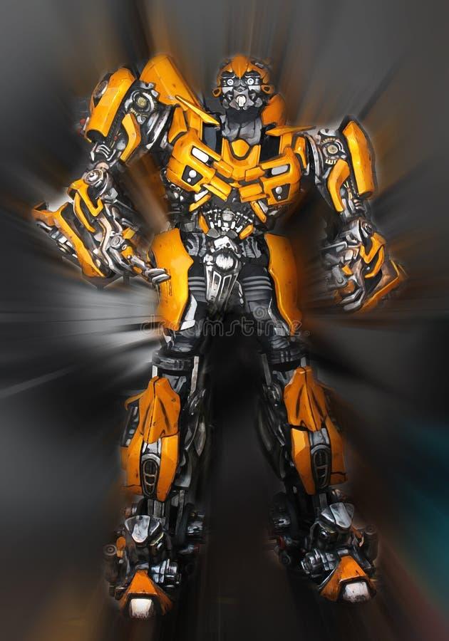 Transformers Bumblebee vector illustration