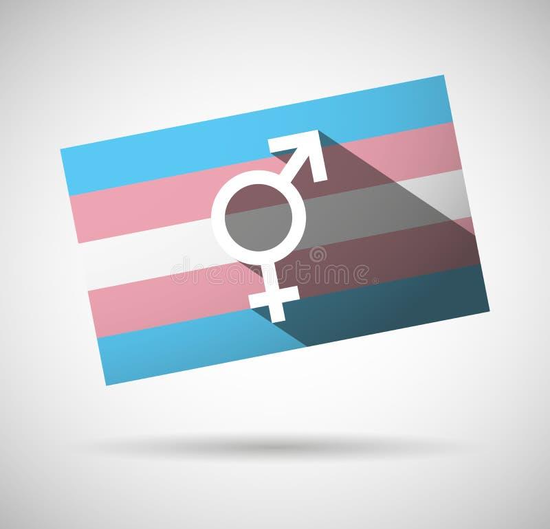 Transgender flag stock images